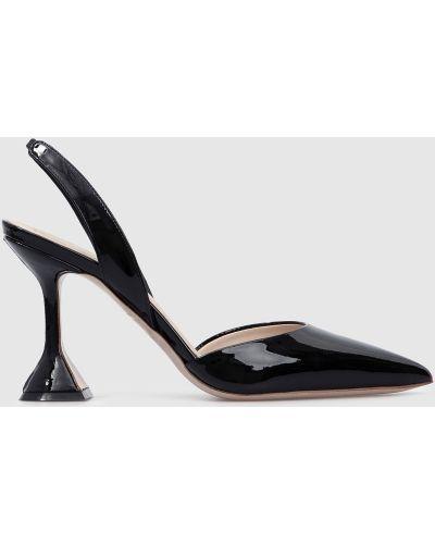 Кожаные туфли - черные Babe Pay Pls