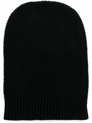 Кашемировая черная шапка N.peal