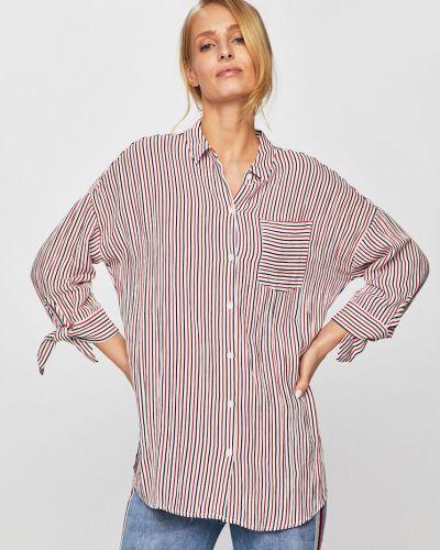 Блузка с коротким рукавом свободного кроя на пуговицах Only