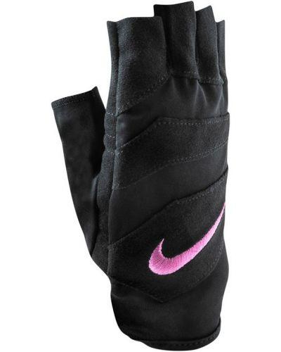 Перчатки замшевые нейлоновые Nike