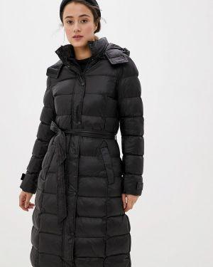 Утепленная куртка демисезонная черная Macleria