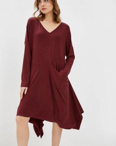 Платье бордовый красный Alezzy Liriq