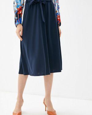 Платье осеннее синее Betty Barclay
