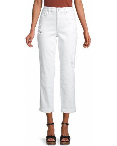 Белые джинсы с карманами Joe's Jeans