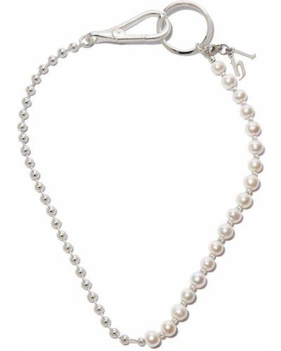 Серебряное ожерелье с жемчугом Hatton Labs