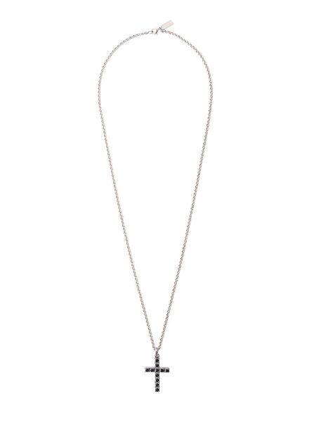 Ожерелье с камнями из серебра Nialaya Jewelry