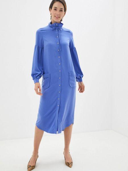 Синее платье Laroom