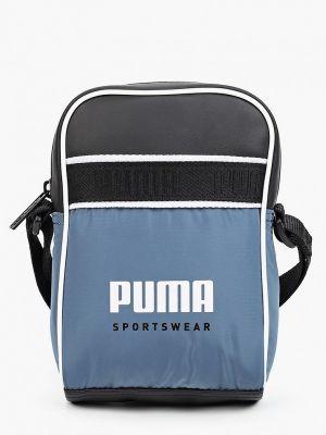 Сумка из полиуретана - синяя Puma