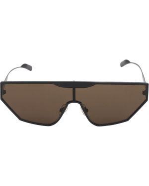 Czarne okulary z nylonu Fkshm