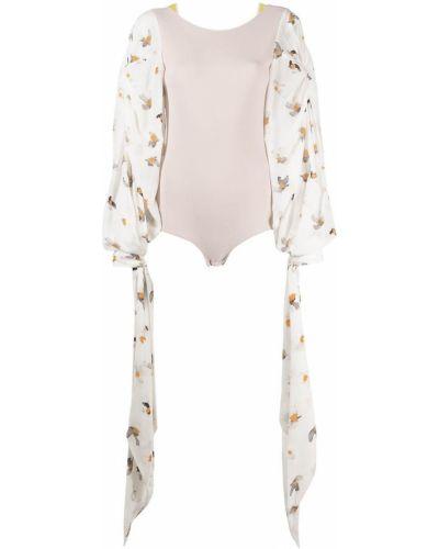 Открытая блузка с завязками с вырезом Nina Ricci