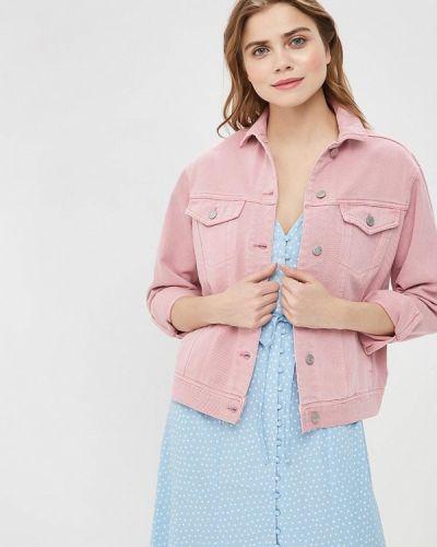 Джинсовая куртка весенняя розовая Vero Moda