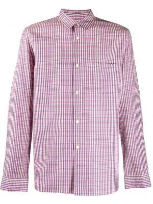 Фиолетовая рубашка с воротником на пуговицах с карманами Comme Des Garçons Pre-owned