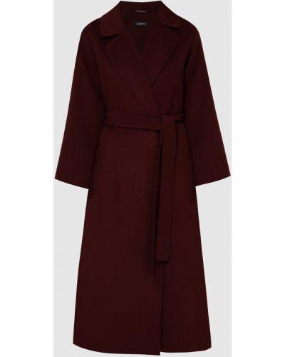 Красное шерстяное пальто Max Mara