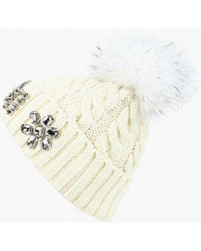 Белая шапка осенняя Vitacci