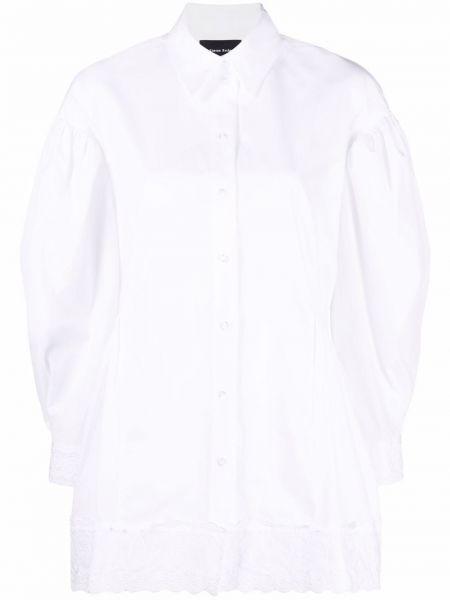 Хлопковая рубашка - белая Simone Rocha