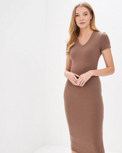 Коричневое платье Trendyangel