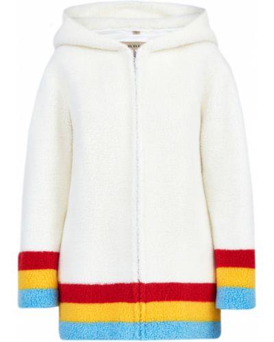 Пальто с капюшоном на молнии пальто Burberry