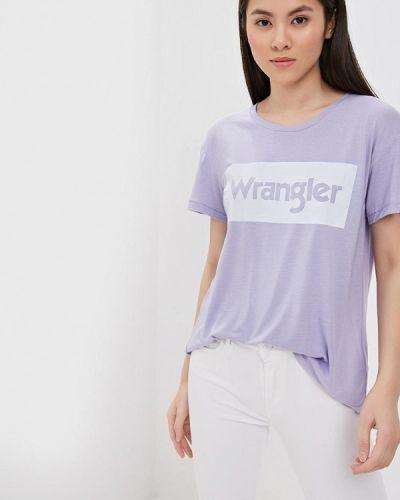 Футболка фиолетовый турецкий Wrangler