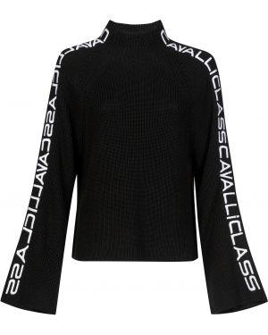 Черный акриловый свитер Cavalli Class