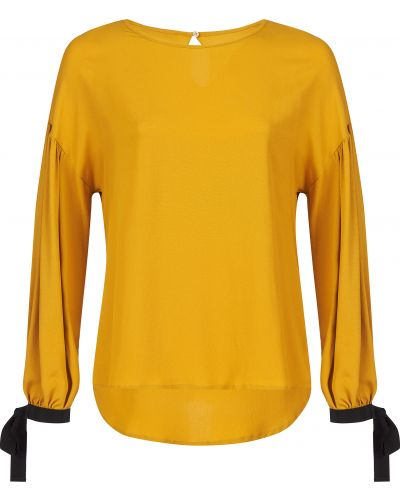 Шелковая блузка - желтая Beatrice.b