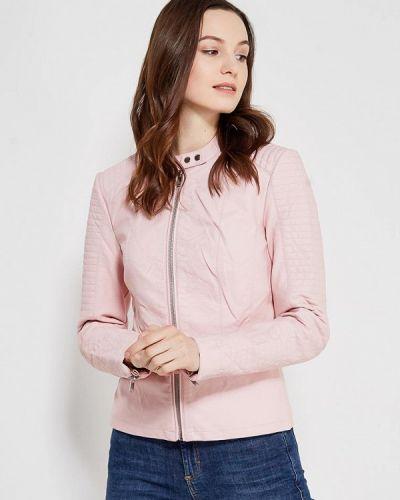 Розовая куртка весенняя Only