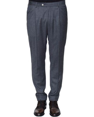 Шерстяные брюки - серые Joop!