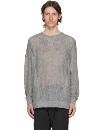 Sweter z długimi rękawami z jedwabiu Acronym
