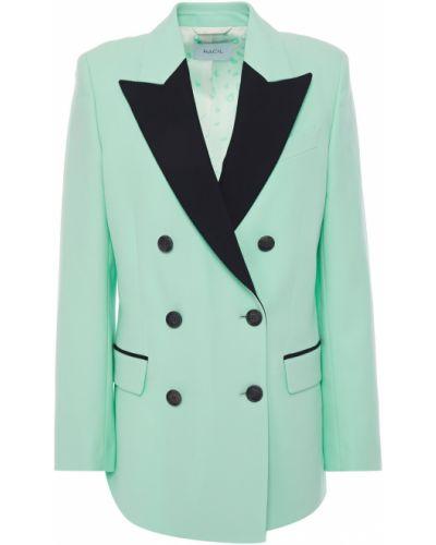 Шерстяной пиджак двубортный с карманами Racil