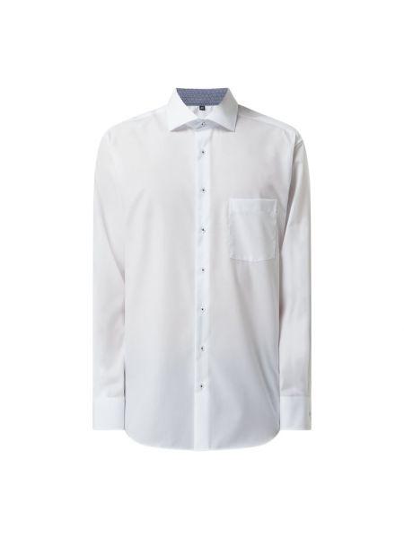 Biała koszula bawełniana z długimi rękawami Eterna