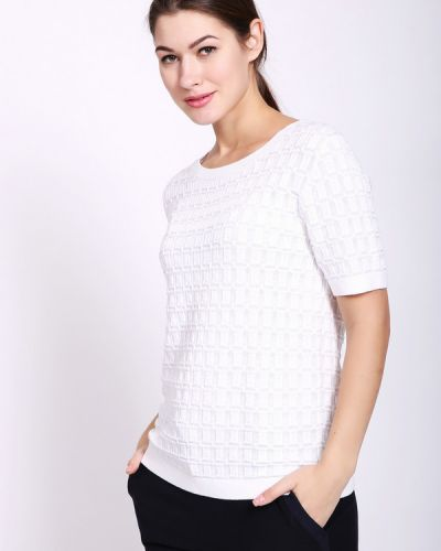 Пуловер белый Pezzo