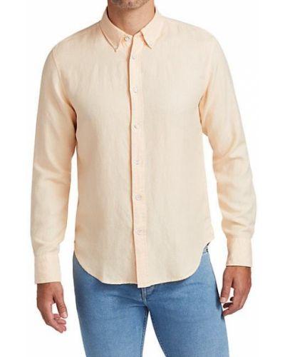 Klasyczna klasyczna koszula z długimi rękawami zapinane na guziki Rag & Bone