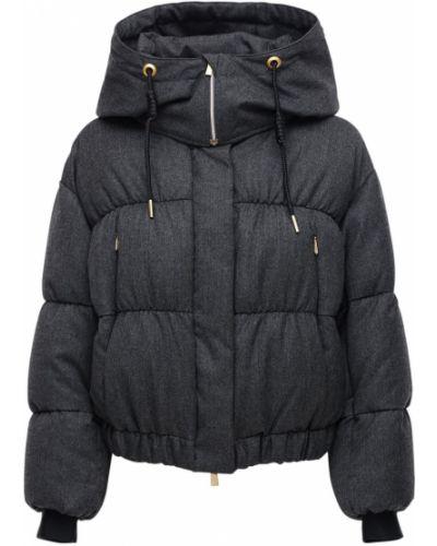 Пуховая куртка с капюшоном с воротником Tatras