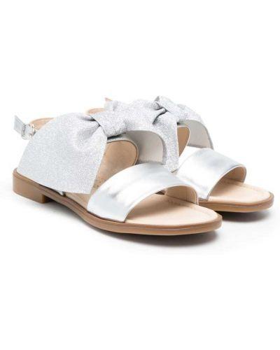 С ремешком кожаные сандалии с бантом Florens