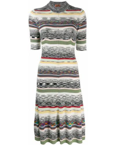 Платье мини миди в рубчик Missoni