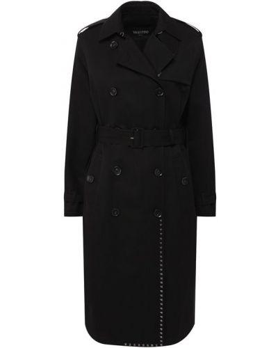 Пальто пальто-тренч с поясом Valentino