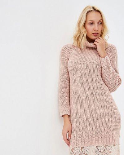 Платье розовое вязаное Perfect J