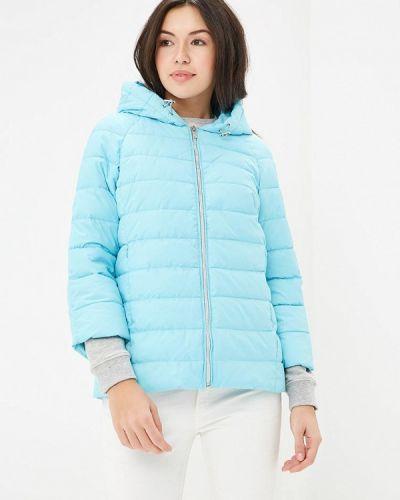 Голубая утепленная куртка Grishko