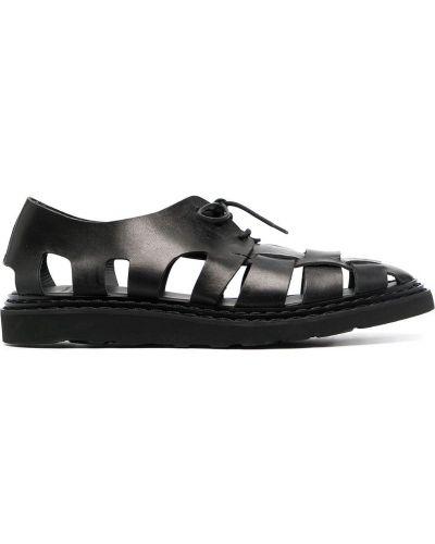 Кожаные сандалии - черные Officine Creative
