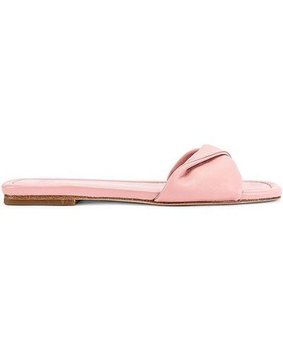 Różowe sandały casual Lpa