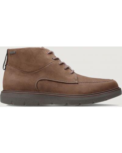 Ботинки - коричневые Clarks
