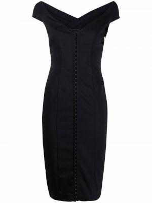 Czarna sukienka bez rękawów Murmur