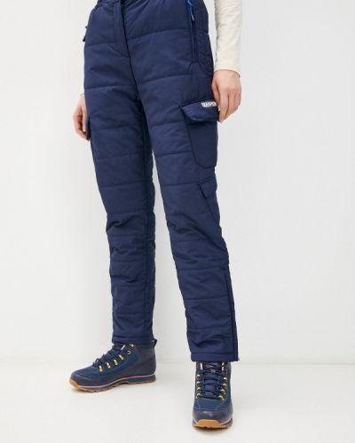 Утепленные брюки - синие Zasport