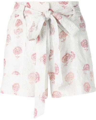 Однобортные шорты с карманами Hemant And Nandita