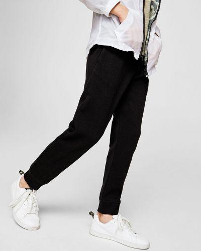 Черные брюки Mango Kids