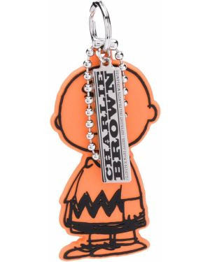 Оранжевый брелок Marc Jacobs