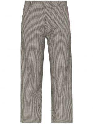 Черные брюки с воротником с поясом Delada