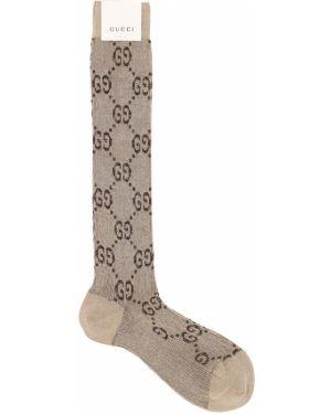 Skarpety ażurowy żakard Gucci