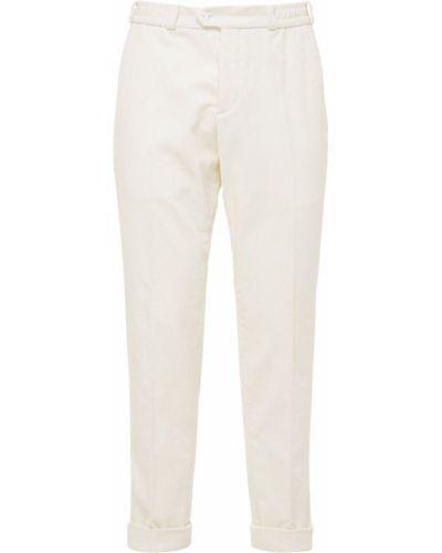 Białe spodnie sztruksowe Pantaloni Torino