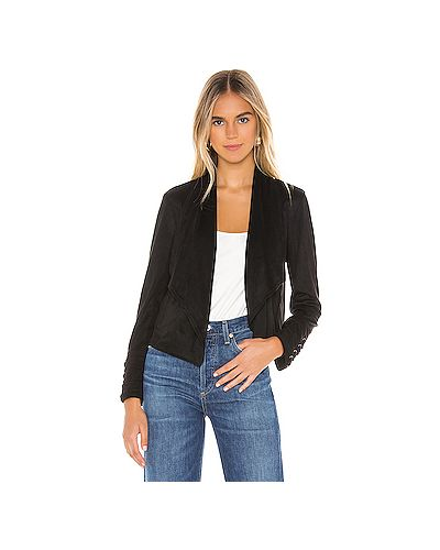 Куртка черная замшевая Bb Dakota