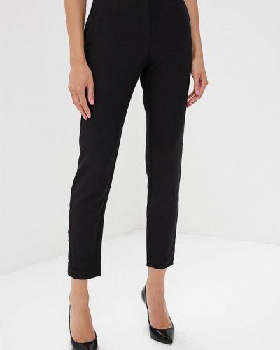 Черные брюки с завышенной талией Love Republic